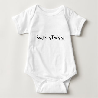 Foodie In Training Baby Bodysuit