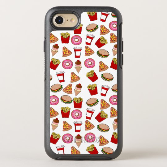 Foodie patterned OtterBox symmetry iPhone 7 case