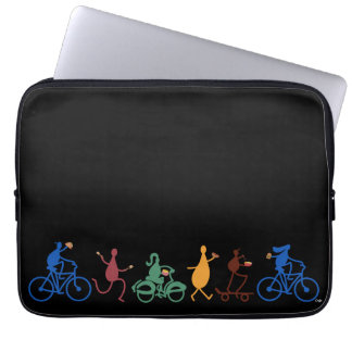 Foodies on the Go Laptop Sleeves