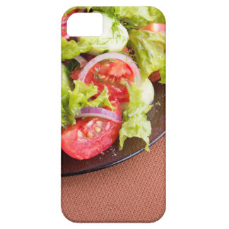 Foodstyle background closeup view of a dish iPhone 5 covers