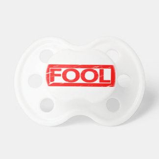 Fool Stamp Pacifier