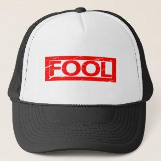 Fool Stamp Trucker Hat