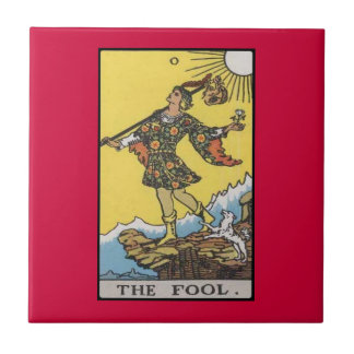 Fool Tarot Card Image Tile