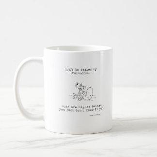 Fooled by Furballs Coffee Mug