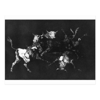Foolishness of the Fools by Francisco Goya Postcard