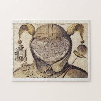Fool's Cap World Map Jigsaw Puzzle
