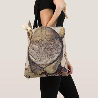 Fool's Cap World Map Tote Bag