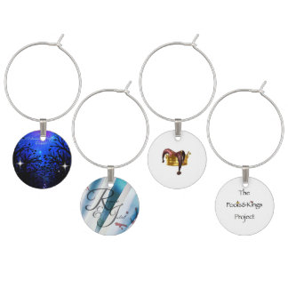 Fools & Kings Project First Season Wine Charms