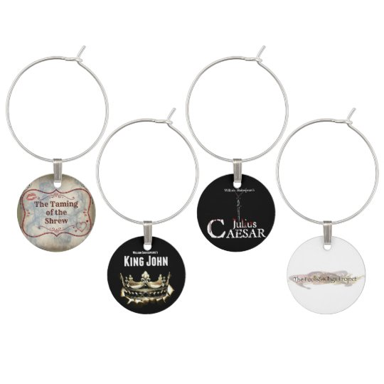 Fools & Kings Project Second Season Wine Charms
