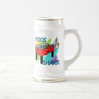 Foos Shark Beer Stein