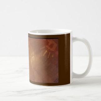 foot and hand prints coffee mug