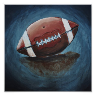Foot Ball Art Print