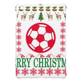 FOOT BALL MERRY CHRISTMAS . iPad MINI CASES