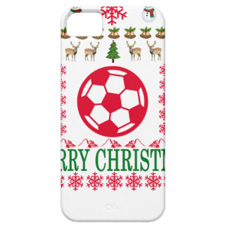 FOOT BALL MERRY CHRISTMAS . iPhone 5 CASES
