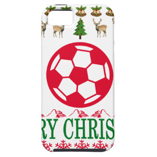 FOOT BALL MERRY CHRISTMAS . iPhone 5 COVER
