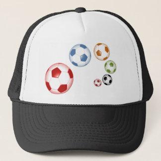 foot balls trucker hat