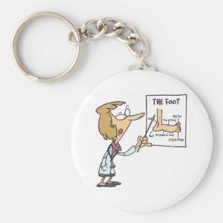 Foot Doctor Keychain