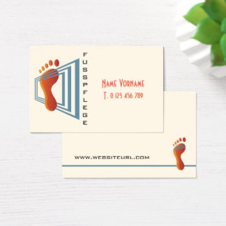 foot-maintains business card
