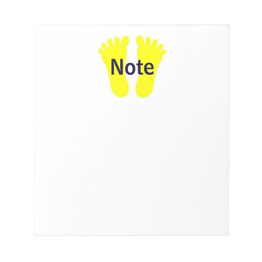 Foot Note Notepad 2