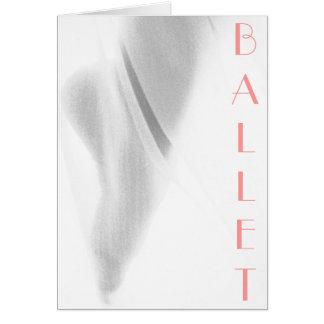 Foot of Ballet Card