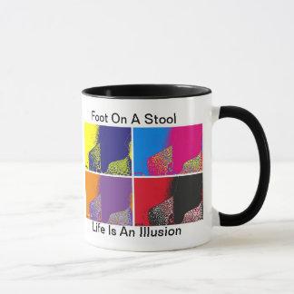 Foot On A Stool small Mug
