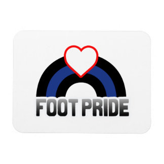 Foot Pride Magnet