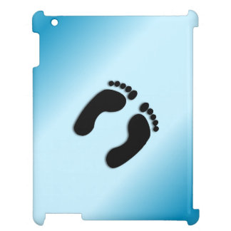 Foot Prints iPad Cover