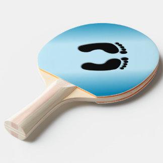 Foot Prints Ping Pong Paddle