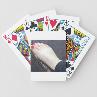 FOOT SLAVE BICYCLE PLAYING CARDS