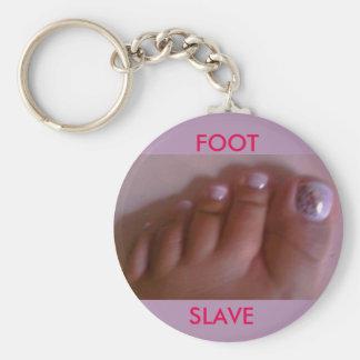FOOT SLAVE KEYCHAIN