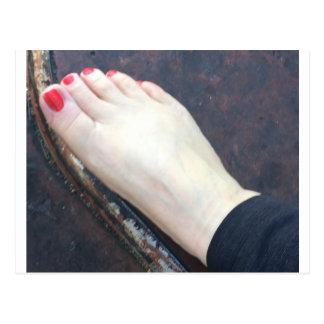 FOOT SLAVE POSTCARD