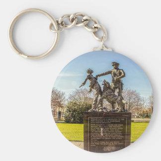 Foot Soldiers in Kelly Ingram Park Basic Round Button Keychain