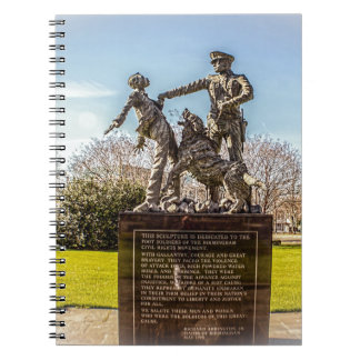 Foot Soldiers in Kelly Ingram Park Notebook