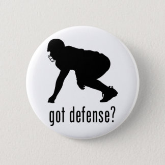 Football 2 Inch Round Button