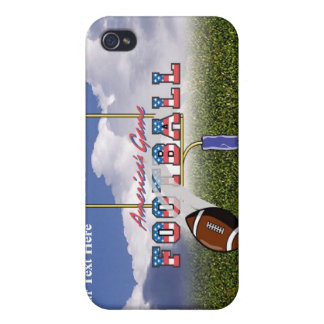 Football – America's Game Design iPhone 4/4S Cases