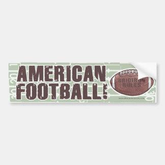 Football américain Bumpersticker Autocollant De Voiture