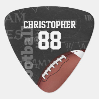 Football américain personnalisé de tableau onglet de guitare