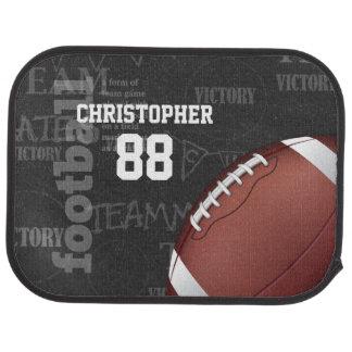 Football américain personnalisé de tableau tapis de voiture