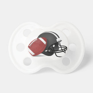 Football And Helmet Pacifiers