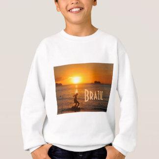 Football at sunset sweatshirt