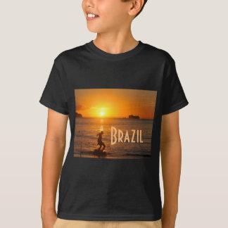 Football at sunset T-Shirt