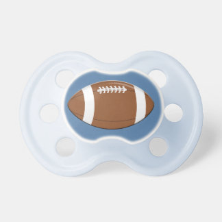 Football Baby Pacifiers