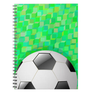 Football Background Notebook