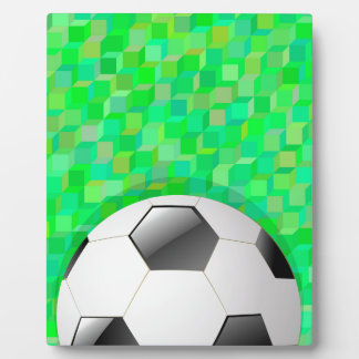 Football Background Plaque