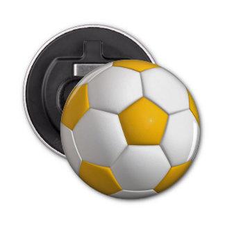 Football (ball) button bottle opener