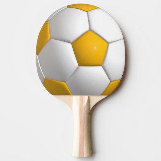 Football (ball) ping pong paddle