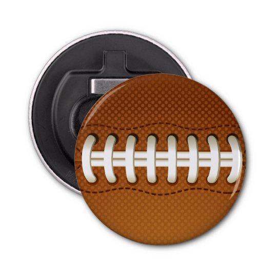 Football Balls Sports Button Bottle Opener