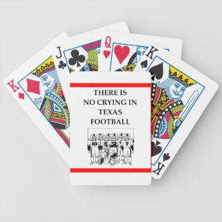 football bicycle playing cards