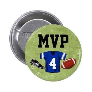 Football Blitz Kids' Birthday Party MVP 2 Inch Round Button