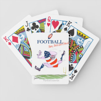Football born bred proud, tony fernandes bicycle playing cards